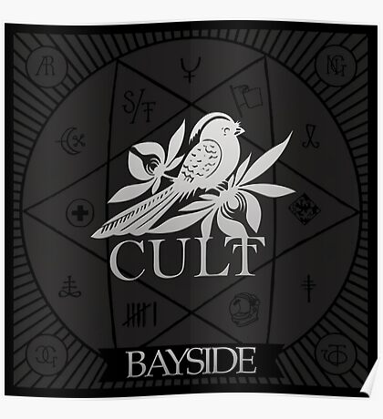 Bayside Band Cult Poster