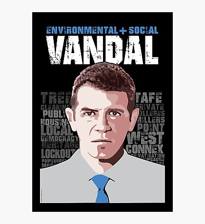 VANDAL Photographic Print