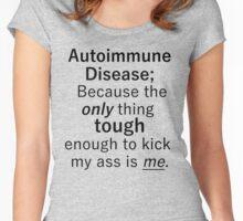 Autoimmune Disease Women's Fitted Scoop T-Shirt