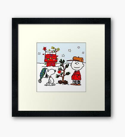 CHARLIE BROWN CHRISTMAS 16 Framed Print