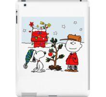 CHARLIE BROWN CHRISTMAS 16 iPad Case/Skin