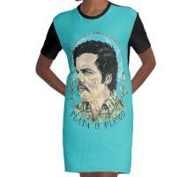 narcos Graphic T-Shirt Dress