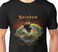 Rainbow Rising Rock Band Unisex T-Shirt