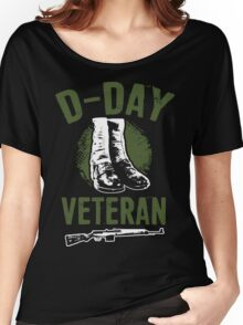 D- Day  Veteran - Perfect gift for veterans Women's Relaxed Fit T-Shirt
