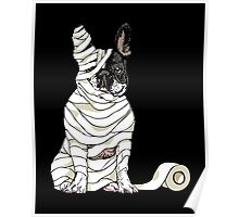 Mummy French Bulldog Poster