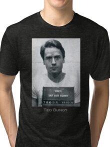 Ted Bundy Serial Killer Mugshot Tri-blend T-Shirt