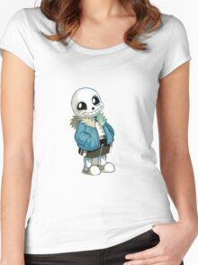 Undertale - Sans Women's Fitted Scoop T-Shirt