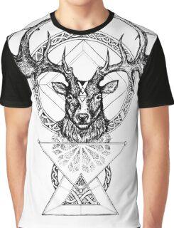 The Irish Deer Graphic T-Shirt