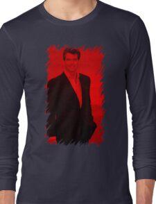 Pierce Brosnan - Celebrity Long Sleeve T-Shirt