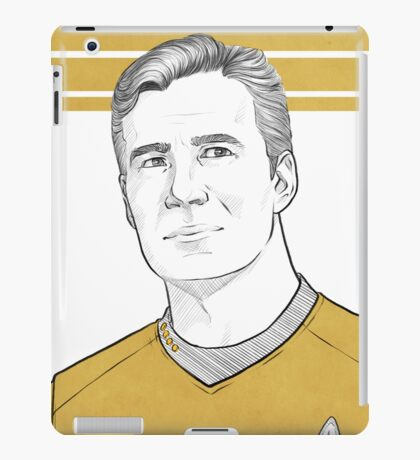 TOS Captain Kirk iPad Case/Skin