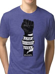 Save Standing Rock, NoDAPL Tri-blend T-Shirt