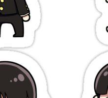 Chibi Mob Sticker Set Sticker