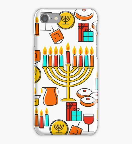 Happy Hanukkah iPhone Case/Skin