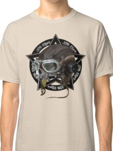 Skull Little Utopia Aviator  Classic T-Shirt
