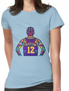 John Stockton Womens Fitted T-Shirt