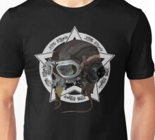 Skull Little Utopia Aviator w Unisex T-Shirt