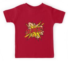 Comic Book Pop Art SUPER! Kids Tee