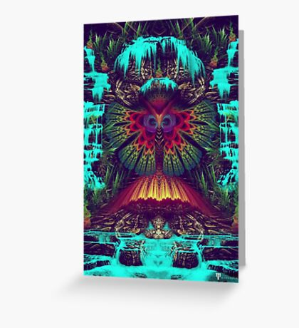 Swamp Nectar Greeting Card