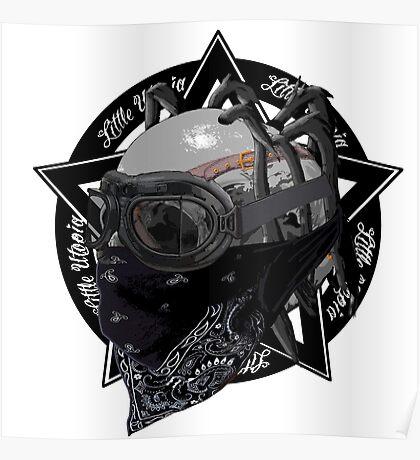 Skull Little Utopia Warlock Poster
