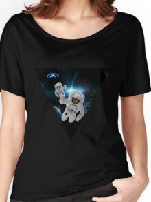 Cats Lost in Space Women's Relaxed Fit T-Shirt