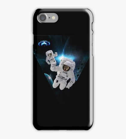 Cats Lost in Space iPhone Case/Skin