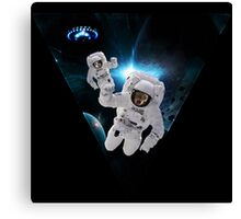 Cats Lost in Space Canvas Print