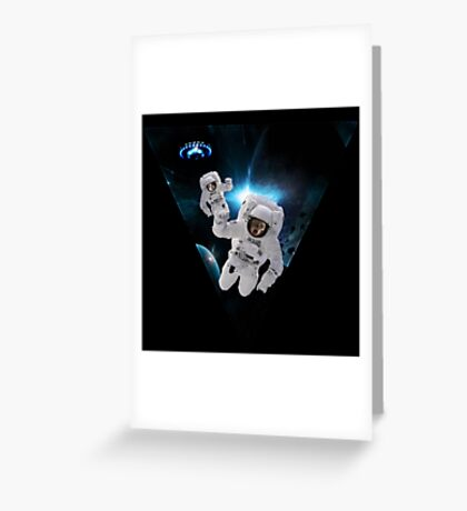 Cats Lost in Space Greeting Card