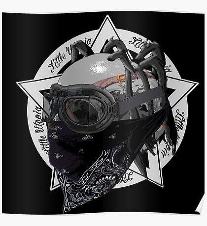 Skull Little Utopia Warlock w Poster
