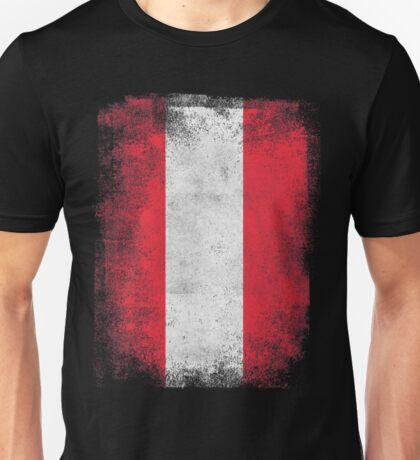 Austria Flag Proud Austrian Vintage Distressed Unisex T-Shirt
