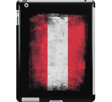 Austria Flag Proud Austrian Vintage Distressed iPad Case/Skin