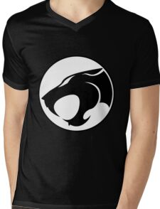 ThunderCats Monochrome Mens V-Neck T-Shirt