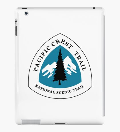Pacific Crest National Scenic Trail Sign, USA iPad Case/Skin