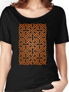 Calligraphy Ornaments Women's Relaxed Fit T-Shirt