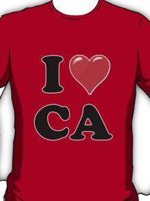 I Love CA T-Shirt