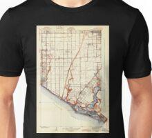 USGS TOPO Map California CA Newport Beach 296347 1935 31680 geo Unisex T-Shirt