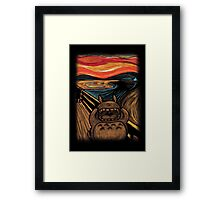 Munch's Neighbor Framed Print