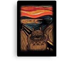 Munch's Neighbor Canvas Print