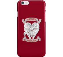 Rebel Heart - red iPhone Case/Skin