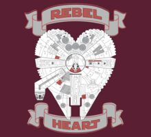 Rebel Heart - red T-Shirt