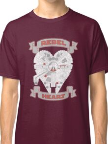 Rebel Heart - red Classic T-Shirt