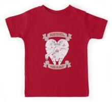 Rebel Heart - red Kids Tee