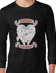 Rebel Heart - red Long Sleeve T-Shirt