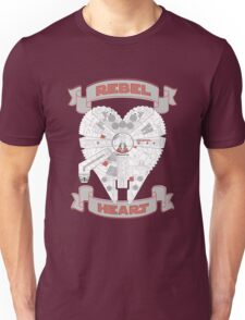 Rebel Heart - red Unisex T-Shirt