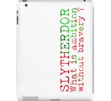 Slytherdor Quote NEW iPad Case/Skin