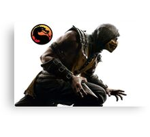 Mortal Kombat X - Scorpion Attack Canvas Print
