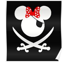 Minnie Pirates Poster