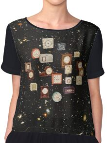 Space-time Chiffon Top