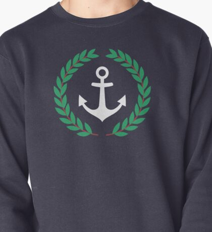 Pablo Escobar - Nautical Laurel Wreath With Anchor Pullover