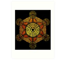 Sacred Geometry for your daily life Art Print