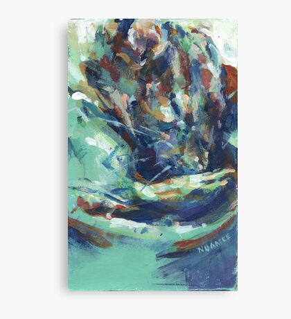 Sleeping rat Canvas Print
